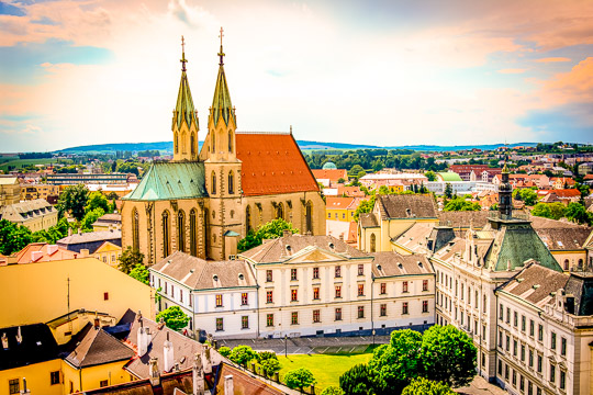 Školní výlet Olomouc a Kroměříž UNESCO