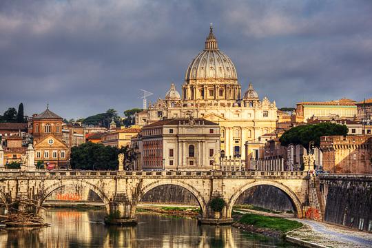Školní zájezd Řím a Vatikán