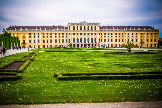 Školní zájezd Schönbrunn