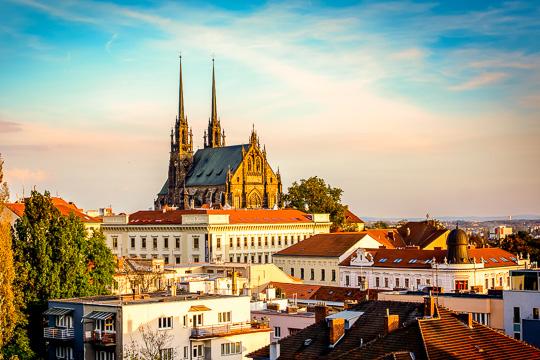 Školní výlet Brno. Hantec, prigl a hrad Veveří