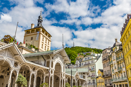 Školní výlet Karlovy Vary, Mariánské a Františkovy