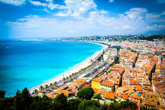 Školní zájezd Jižní Francie, Azurové pobřeží