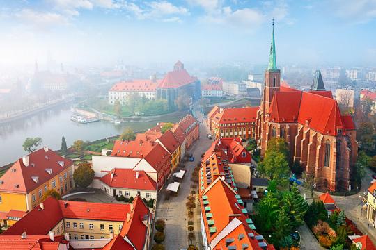 Školní zájezd Wroclaw, Kladsko a Osovka